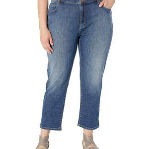 Eileen Fisher Plus Size High Rise Jeans Size 18